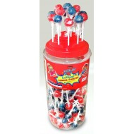 Lick It Tongue Painter Halal Fruit Flavoured Sweets Lollipops Lolly 150